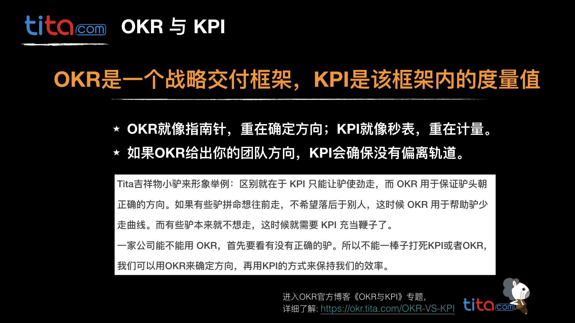 OKR目标管理 okr.tita.com