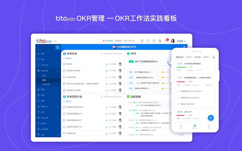 OKR工作法看板