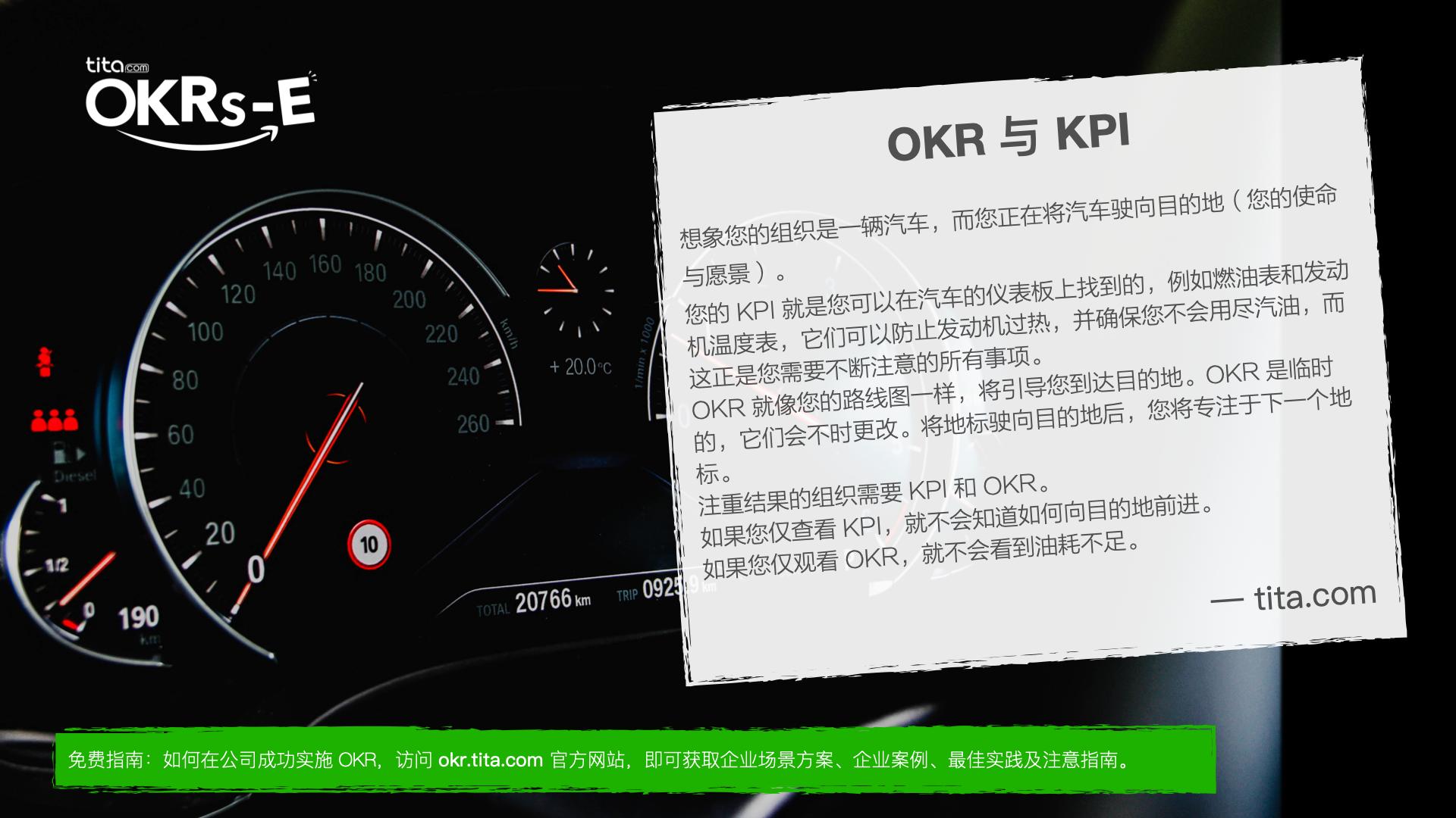 《 OKR 与 KPI 》专题