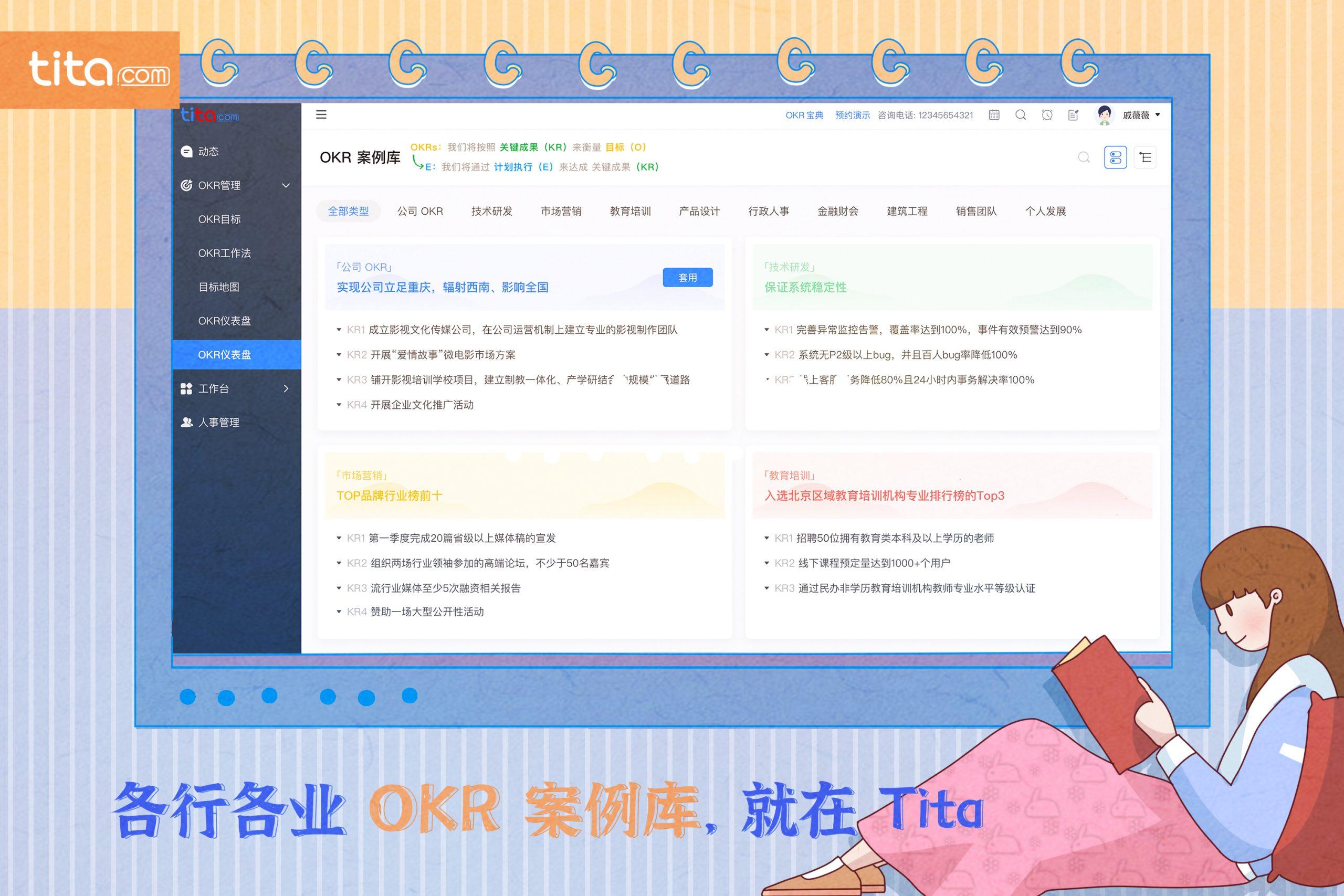 销售团队OKR案例